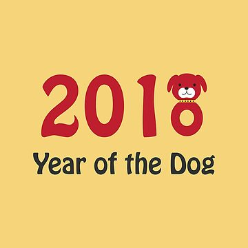 2018 Year of the Dog by Eggtooth