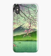 Mount Fuji & Cherry Blossoms iPhone Case/Skin