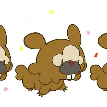 Bidoof Parade by Kiyi