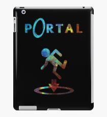 Portal Minimalist Nebula Design iPad Case/Skin