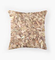 Natures carpeting Throw Pillow
