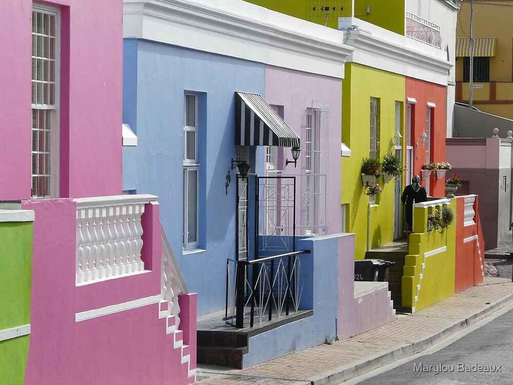 Fascinating Bo Kaap by Marylou Badeaux