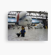 Attack of Stay Puft Canvas Print