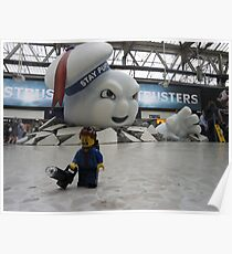 Attack of Stay Puft Poster