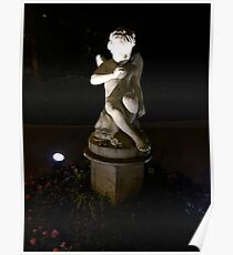 Boy Sculpture Poster
