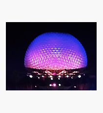 The Glow of Spaceship Earth Photographic Print