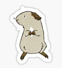 Agouti Guinea Pig Sticker