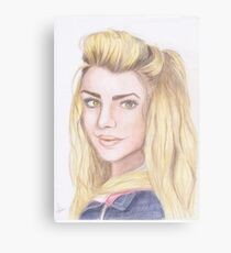 Dr. Who - Rose Tyler Canvas Print