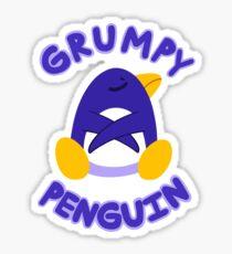 GRUMPY PENGUIN Sticker