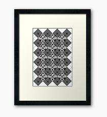Keyblade Argyle Framed Print