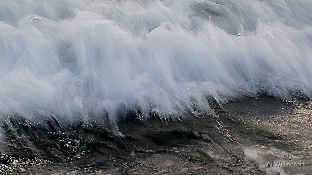 White Cascade by Al Williscroft