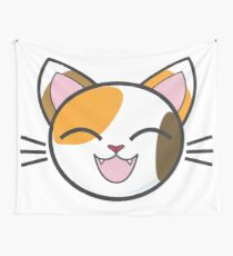 Cute Calico Cat Wall Tapestry