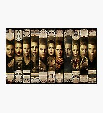 The Vampire diaries & the original Photographic Print
