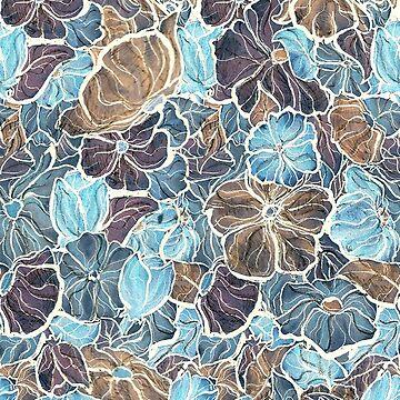 Blue flowers  by sambambina