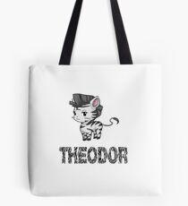 Zebra Theodor Tote Bag