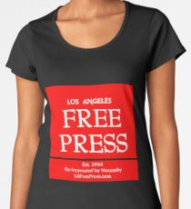 Los Angeles Free Press T-shirt Women's Premium T-Shirt