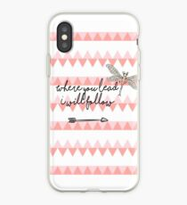 Gilmore Girls- Where you lead I will follow iPhone Case