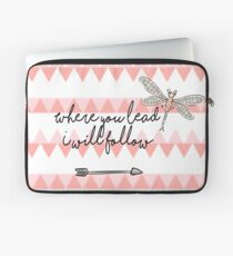 Gilmore Girls- Where you lead I will follow Laptop Sleeve