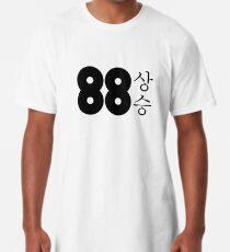88 Logo mit koreanischen Schriftzeichen Longshirt