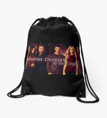 The vampire diaries-the originals Drawstring Bag