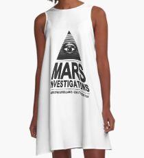 Mars investigation A-Line Dress