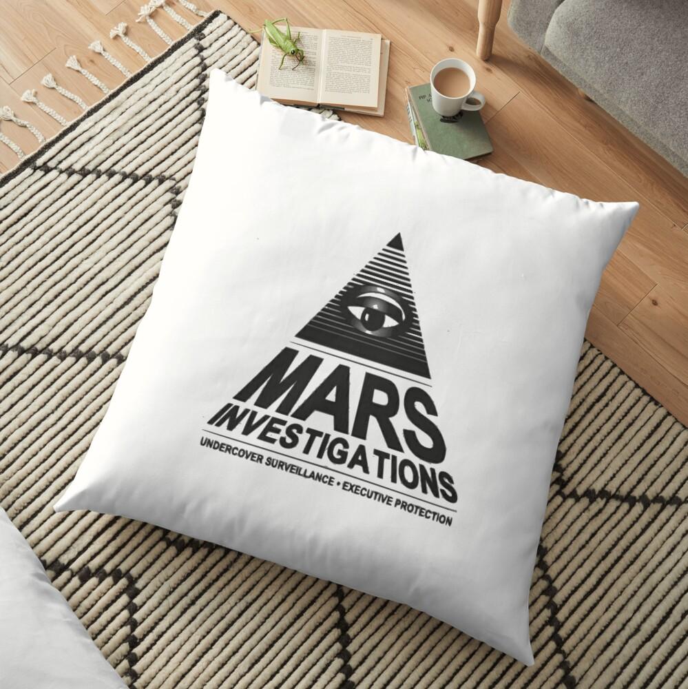 Mars-Untersuchung Bodenkissen