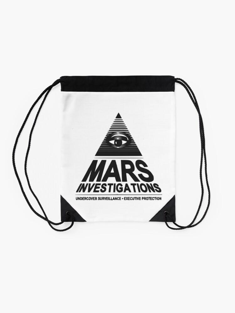 Alternative Ansicht von Mars-Untersuchung Turnbeutel