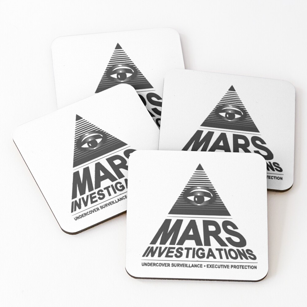 Mars-Untersuchung Untersetzer (4er Set)