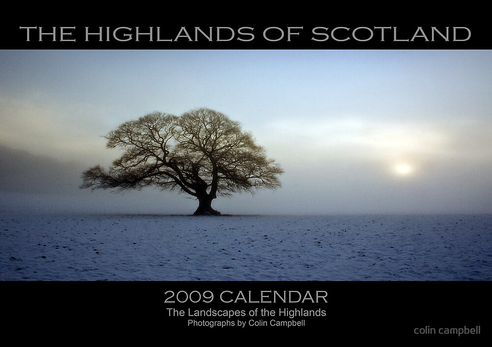 2009 Calendar by colin campbell