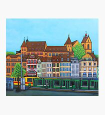 Barfusserplatz Rendez-vous Photographic Print