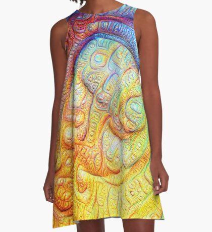 Color Foam #DeepDream V2 A-Line Dress