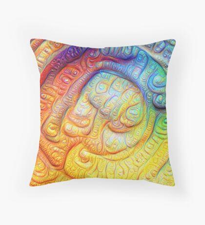 Color Foam #DeepDream V2 Floor Pillow
