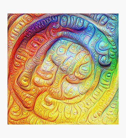 Color Foam #DeepDream V2 Photographic Print
