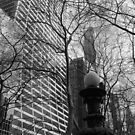 Bryant Park Lampost by Catherine Mardix