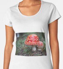 amanita muscaria mushroom Women's Premium T-Shirt