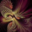 Spinning Abstract by Deborah  Benoit