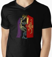 Art thou ready, player one? Men's V-Neck T-Shirt