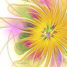 Golden Blossom by Deborah  Benoit