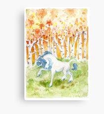 Wild Unicorn Canvas Print