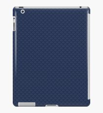 Blue Scale Pattern iPad Case/Skin