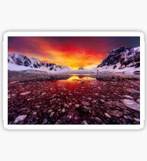 Antarctic Sunrise Sticker