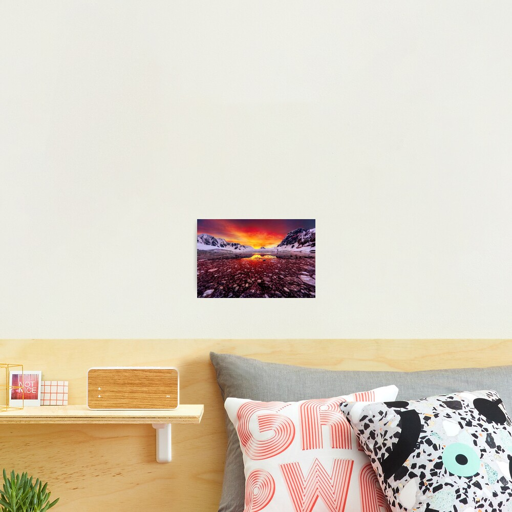 Antarctic Sunrise Photographic Print