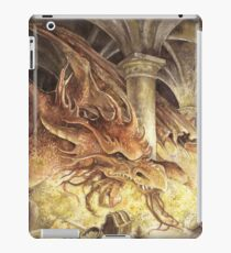 Bilbo and Smaug the Dragon iPad Case/Skin