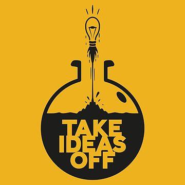 Cartoon Statement Take ideas off by udesignstudio