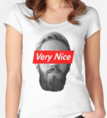 Very Nice Pewdiepie Women's Fitted Scoop T-Shirt