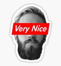 Very Nice Pewdiepie Sticker