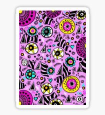 Patterns and shapes Sticker