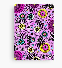 Patterns and shapes Canvas Print