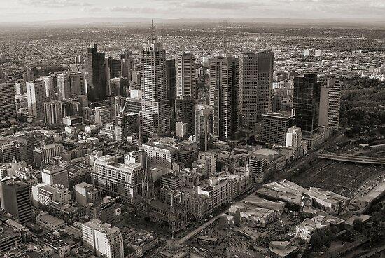 Melbourne City by Ewan Arnolda