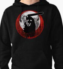 Black Swordsman armor Pullover Hoodie